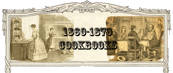 1860-1879 Cookbooks